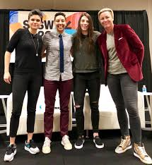 """Hilary Knight on Twitter: """"Feeling very inspired after a great conversation  with @AbbyWambach @Layshiac and @katefagan3! Thank you @sxsw @Ath4Hope  #AthletesforProgress… https://t.co/4A5RoDGFVP"""""""