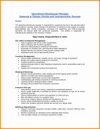 30 Awesome Sample Resume For Warehouse Worker Free Resume Ideas