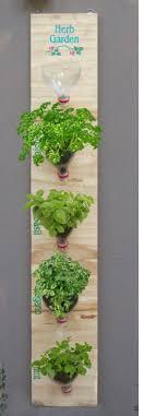 extraordinary vertical herb garden diy 18 brilliant and creative d i y for indoor outdoor bottle top pallet