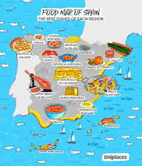 infographic regional food maps of europe  eat your world blog