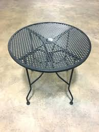 black wrought iron outdoor furniture outdoor furniture round wrought iron patio table table black wrought vintage