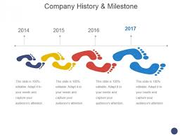 Company History And Milestone Template 1 Ppt Powerpoint