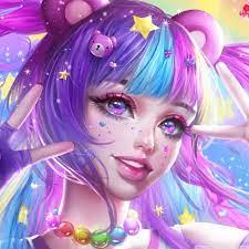 Anime Girl Galaxy Wallpapers - Top Free ...