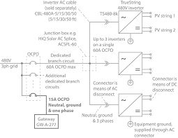 hiq solar faqs gw line diagram ocpd pv solar inverter ac splice