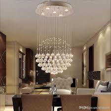 Großhandel Moderne Große Kristallleuchter Leuchte Für Lobby Treppe Kronleuchter Lange Spirale Kristall Licht Glanz Deckenleuchte Von Qin342952757