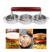 <b>Мини пресс для гамбургера</b> es с антипригарным покрытием, 3 ...