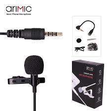 <b>Ulanzi Arimic</b> петличный <b>микрофон</b> с отворотом, клип на Hands ...