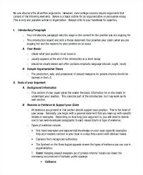 Example Of Argument Essays Background Essay Example Classical Argument Essay Example Background