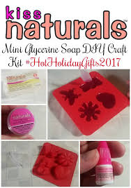 kiss naturals mini glycerine soap diy craft kit hotholidaygifts2017