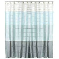blue striped shower curtain striped blue shower curtains shower accessories the home depot blue striped fabric