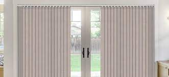 thermal vertical blinds for sliding