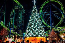 Christmas Lights New England Six Flags New England Gets A Dose Of Christmas Cheer