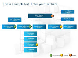 Organizational Chart Maker Powerpoint Use Org Chart Powerpoint Template To Showcase Your Project