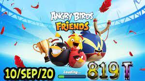 Angry Birds Friends All Levels Tournament 819 Highscore POWER-UP walkthrough
