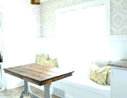 diy breakfast nook build table banquette seating plans