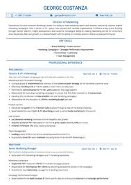 Marketing Resume Sample New Marketing Resume Examples And Samples