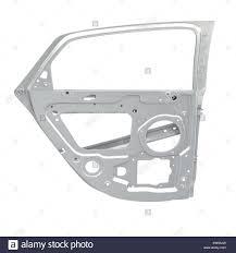 car door frame on white 3d ilration