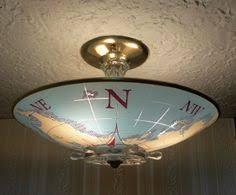 compromise nautical ceiling light shades lighting pinterest nautical flush mount light c1