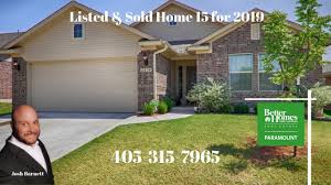 listed and closed home 15 for 2019 2804 nw 188th street edmond ok 73012