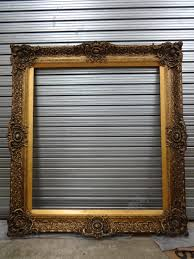antique frame. Huge Ornate Gilt Frame Antique