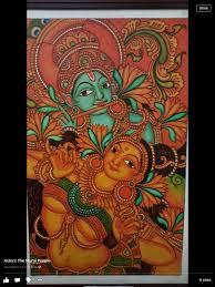 folk art paintings indian paintings kerala mural painting mural art murals traditional paintings indian art shiva krishna