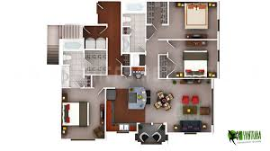3d luxury floor plans design for residential home germany