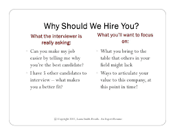 why should we hire you interview question why should we hire you i answers purchase questions and efficient