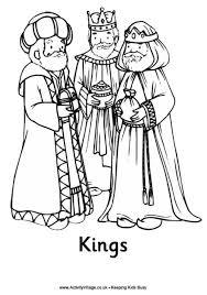 Small Picture Nativity Colouring Pages