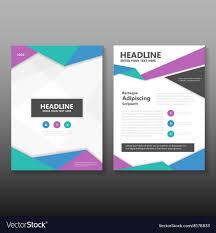 Templates For Brochure Colorful Leaflet Brochure Leaflet Templates