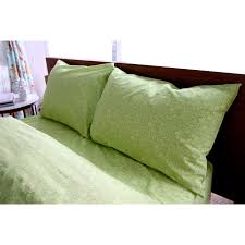 Amy Butler for Welspun Organic Cotton Sair Bloom Green Floral Sheet Set -  Free Shipping Today - Overstock.com - 17551555