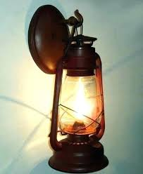 wall mounted lantern candle holder western lanterns outdoor outside wa