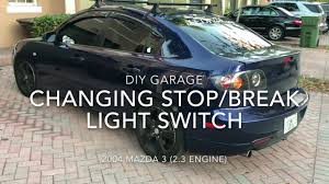 mazda 3 2004 break stop light switch replacement diy garage mazda 3 2004 break stop light switch replacement diy garage