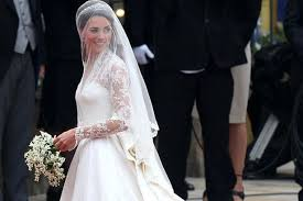 royal wedding kate middleton at westminster abbey pic pa