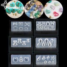 1pcs UV Resin Jewelry Liquid Silicone Mold <b>Radish</b> Rabbit Bowknot ...
