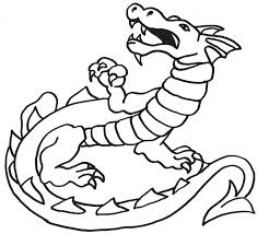 Small Picture coloring pages draw a dragon easy coloring pages draw a simple