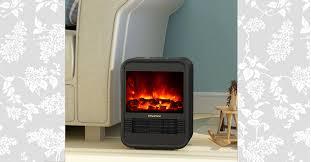 puraflame clara 9 mini portable electric stove heater 1250w