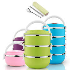 Thermos Lunch Box colorful kitchen utensils free shipping worldwide
