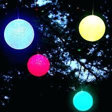 outdoor lighting balls. Beautiful Lighting Christmas Light Balls Outdoor Ball Lights Colored  Amusing Lighted Hanging   Throughout Outdoor Lighting Balls G