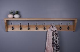 Vintage Coat Rack With Shelf Delectable Vintage Oak Coat Rack With Shelf Wooden Coat Rack Cast Iron