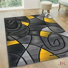 modern gray area rugs awesome abstract modern contemporary circle patterns design area