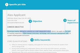 Career Objective Resume Resume Objective Examples And Writing Tips