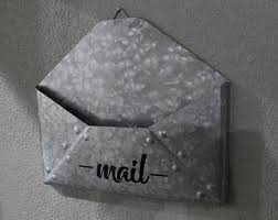 office door mail holder. Mail Holder/Mail Organizer/Office Decor/ Home Metal Holder Office Door R
