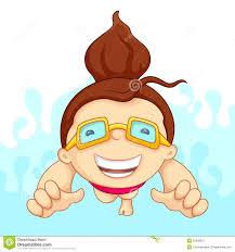 girl swimming clipart. Modren Girl In Girl Swimming Clipart M