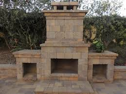 outdoor gas fireplace san go c r pavers
