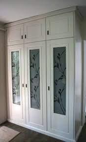 frosted glass door wardrobe door