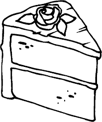 Small Picture Cake Coloring Pages fablesfromthefriendscom