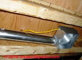 bathroom fan ducting. Bathroom Vent Fan Codes Installation Inspection Repairs Exhaust Ducting N