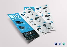Electronic Brochure Template Electronic Big Sale Flyer Template