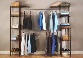 expandable closet organizer idea