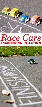 Race Cars Engineering For Kids In Action